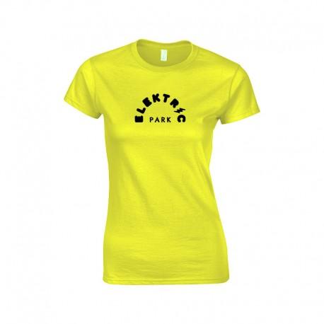 "T-Shirt Femme ""ELEKTRIC PARK"" - Fluo"